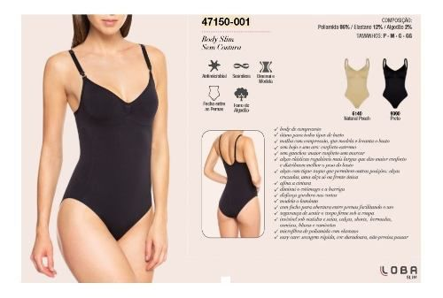 Body Slim Pode Afinar Cintura, Comprimir Barriga Lupo 47150-001