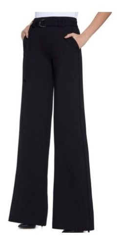Calça Pantalona Trend Elegancy Cinto Fivela Lupo 41878-001