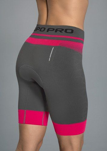 Bermuda Compressão Ciclismo Lupo Cycle Women Feminina 71328-001