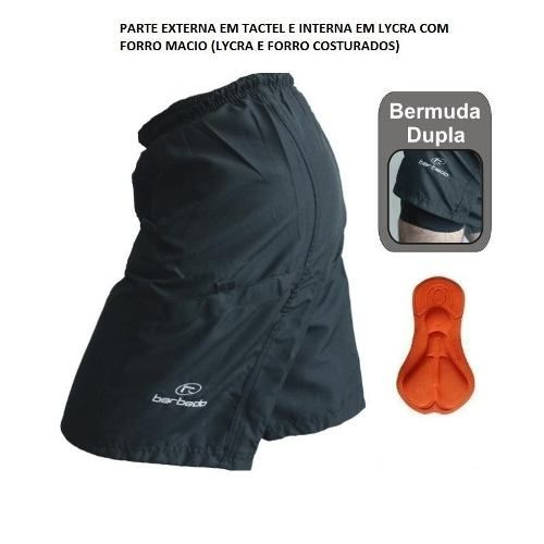 Bermuda Barbedo Ciclismo Bike Speed Modelo Free Ride Bm-0030