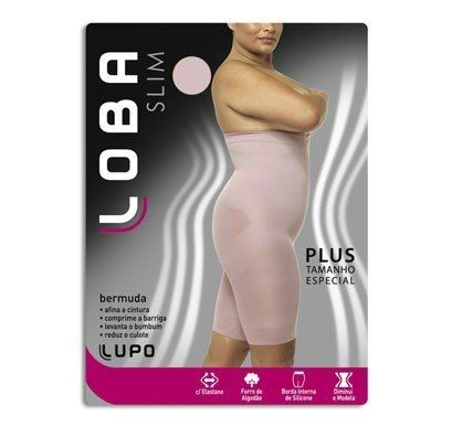 Bermuda Lupo Slim Plus Loba Plus 5697-001
