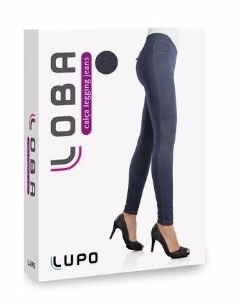 Calça Legging Jeans Loba Lupo Com Elastano 41845-001