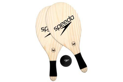 Kit Frescobol Speedo  2 Raquetes E Bola 978106