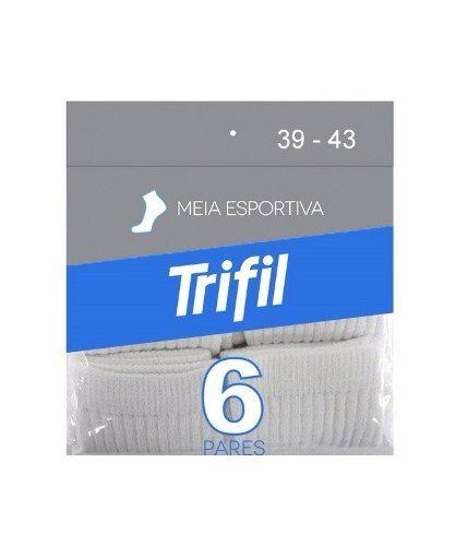 Kit 6 Pares De Meias Cano Longo Trifil T08720