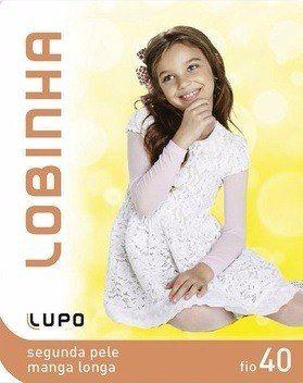 Segunda Pele Infantil Lupo Manga Longa Lobinha P/G 860-001