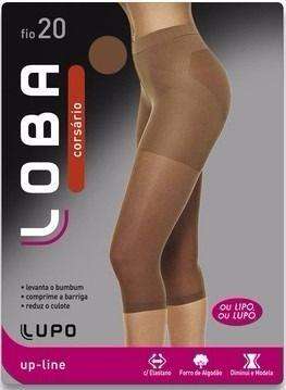 Meia Legging Corsário Loba Lupo Up-line Levanta O Bumbum 5865-001