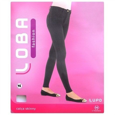 Calça Skinny Lupo Opaca Loba Fashion 41860-001