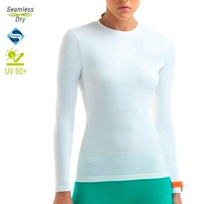 Camiseta Compressão Lupo Proteção Solar Uv 50+ Feminina 71610-001