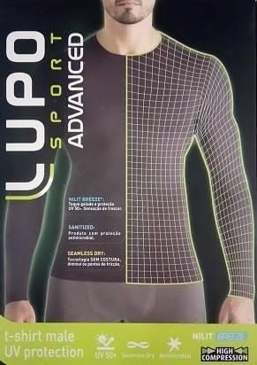 Camiseta Compressão Lupo Proteção Solar Uv 50+ Toque Gelado 70632-001