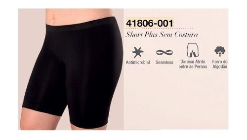 Short Plus Loba Clássica Tamanho Especial Lupo 41806-001