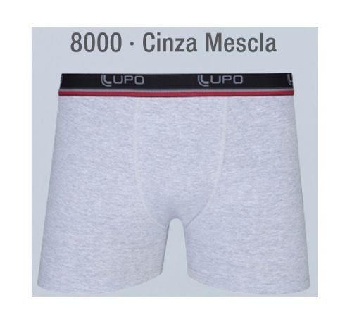 Cueca Boxer Cotton Lupo Plus 54à 64 Tamanho Especial 653-001