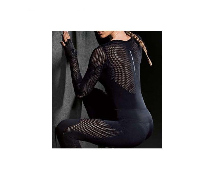Body Arrastão Fashion Lupo Sport Com Elastano 71643-001