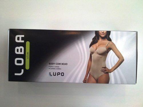 Body Loba Com Bojo Modelador Lupo 47157-001