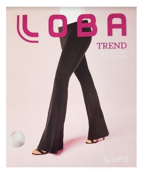Calça Flare Loba Trend Veludo Fake Lupo 41872-001