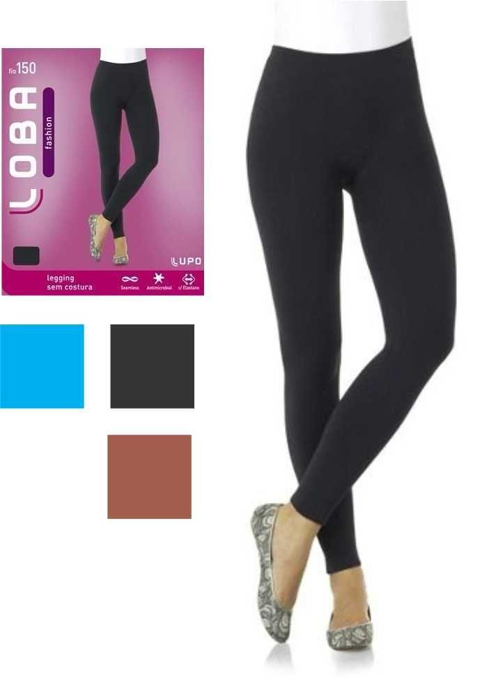 Calça Legging Loba Sem Costura Original Fio 150 Lupo 41850-001