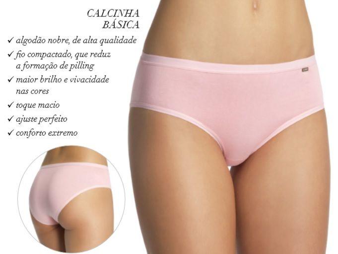 Calcinha Loba Clássica Cotton Lupo Algodão 40352-001