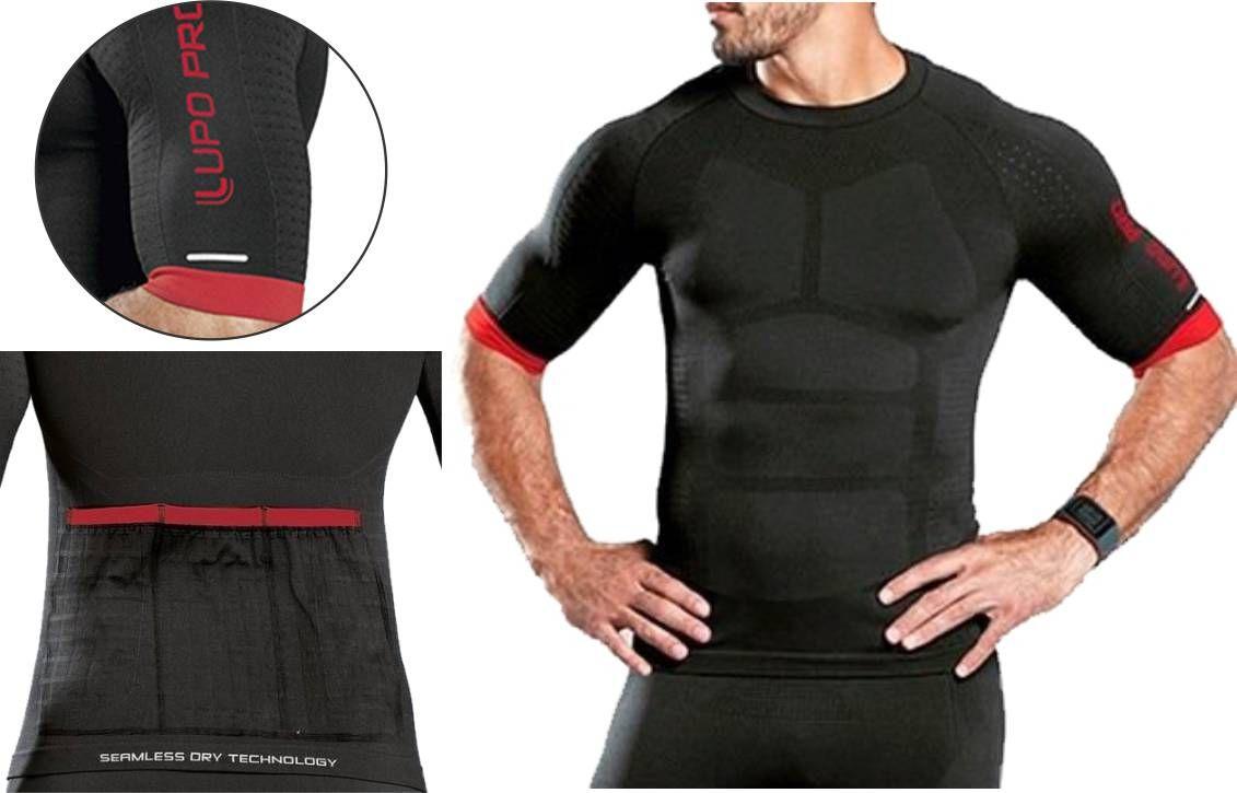 Camiseta Compressão Ciclismo T-shirt Cycle Men Lupo Pro 70651-001