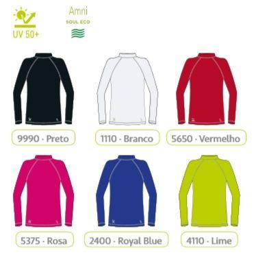 ... Camiseta Infantil Unissex Proteção Solar Uv 50+ Dry Lupo 77014-001 -  ALL MODAS ... c287449e342