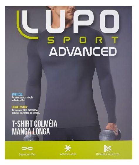 Camiseta Manga Longa Lupo Sport T-shirt Colméia 70671-001