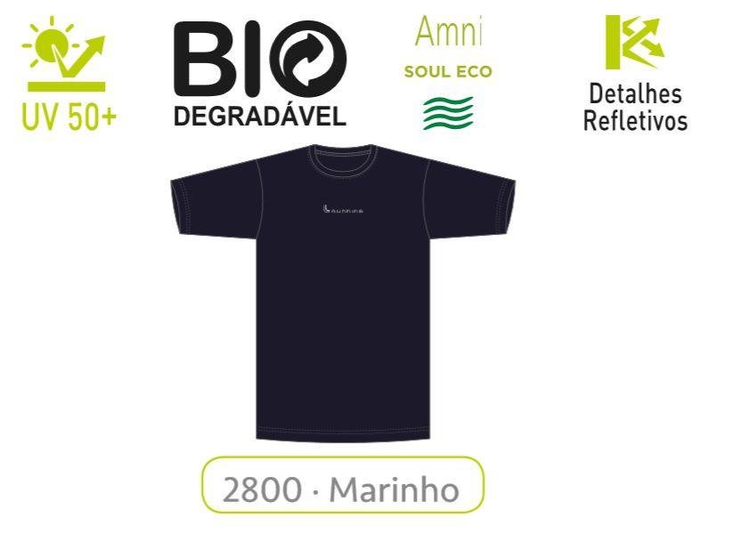 Camiseta Proteção Solar Uv 50+ Bio Degradável Lupo 77053-001