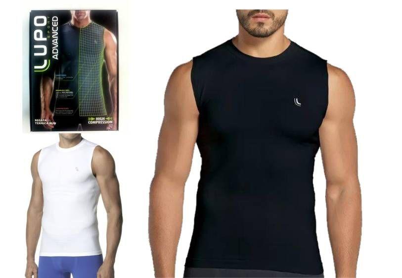 Camiseta Térmica Regata Segunda Pele Sem Costura Lupo 70030-001