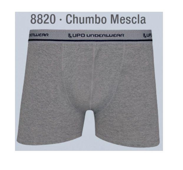 Cueca Boxer Com Bojo Aumenta Volume Frontal Lupo 433-001