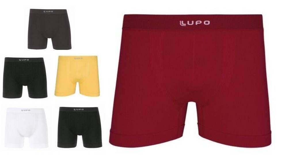 Cueca Boxer Lupo Em Micromodal Sem Costura P A Plus Especial 661-001