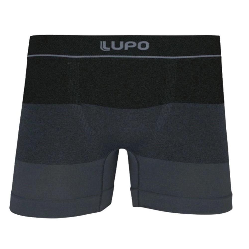 Cueca Boxer Sem Costura Lupo Microfibra Fio Texturizado 663-014/733-012