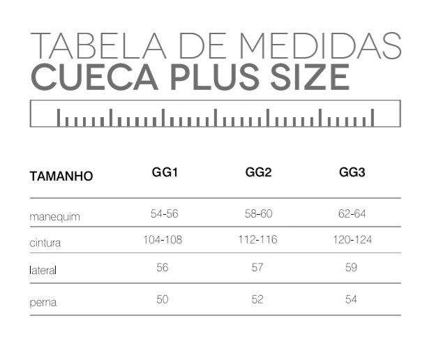 Cueca Boxer Trifil Microfibra S/ Costura Plus Size Ce4411
