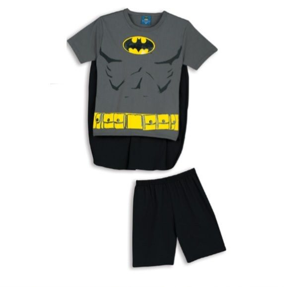 Fantasia Pijama Batman Infantil Lupo 23033-001