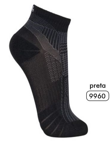 Kit 10 Pares Meias Anti-chulé Lupo Unissex Promoção 15676-001