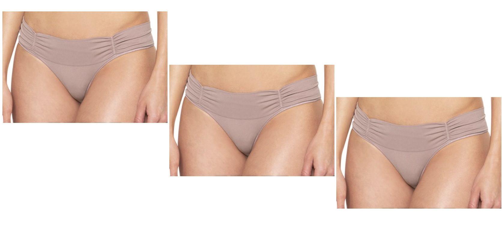 Kit 3 Calcinhas Clássica Essencial Conforto Loba Lupo 40116-001