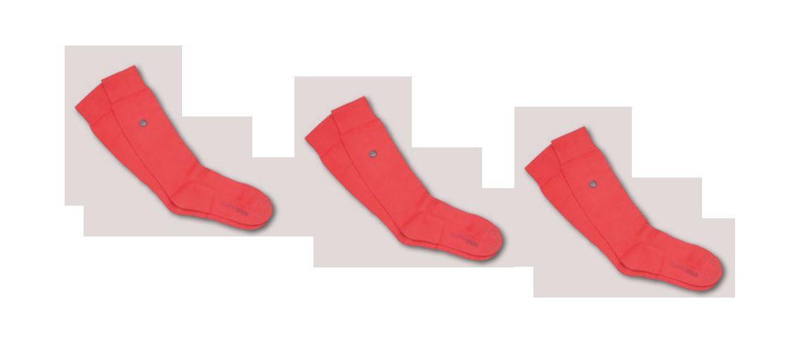 Kit 3 Meias Urban Colors Cano Longo Lupo Algodão 16903-001