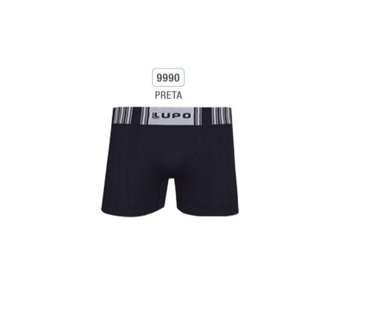 Kit 5 Cuecas Boxer Microfibra Lupo Promoção 00766-001