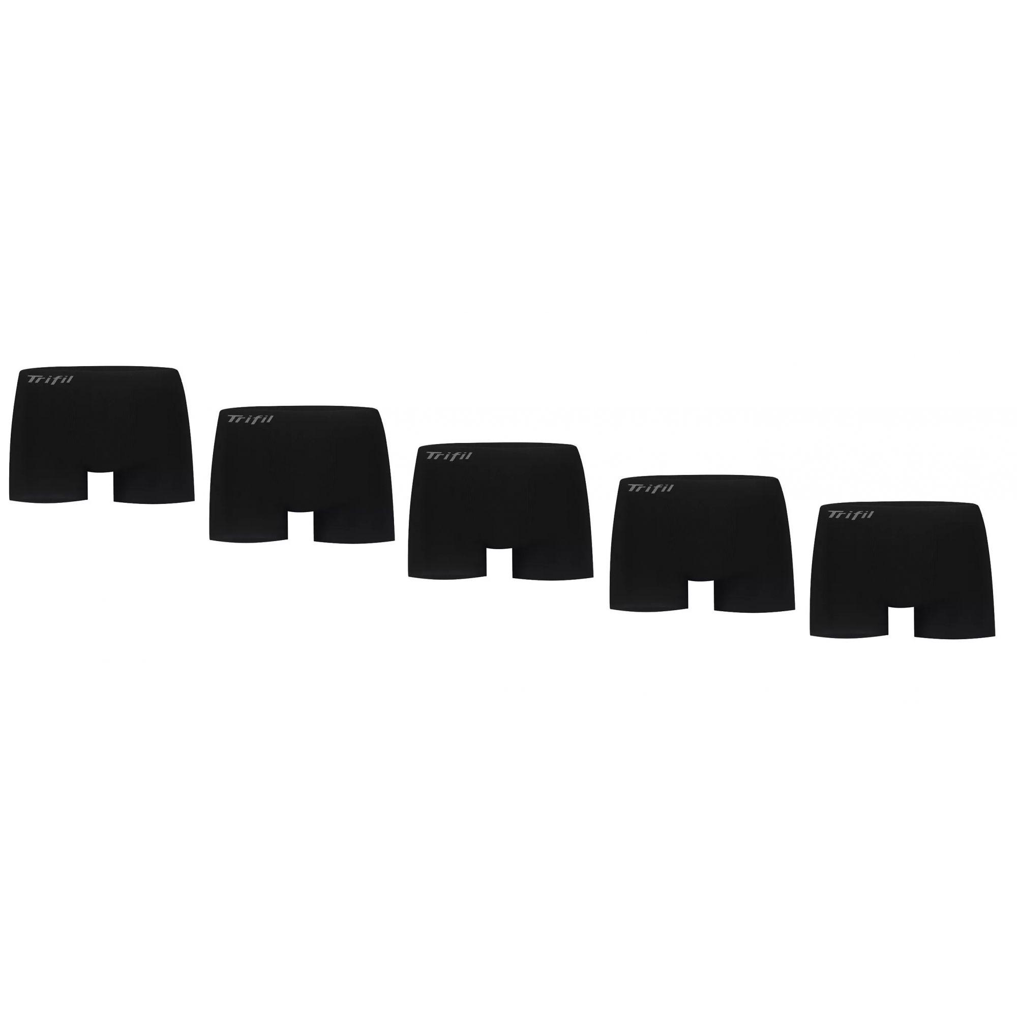 Kit 5 Cuecas Boxer Trifil Microfibra Plus Size 54-64 Ce4411