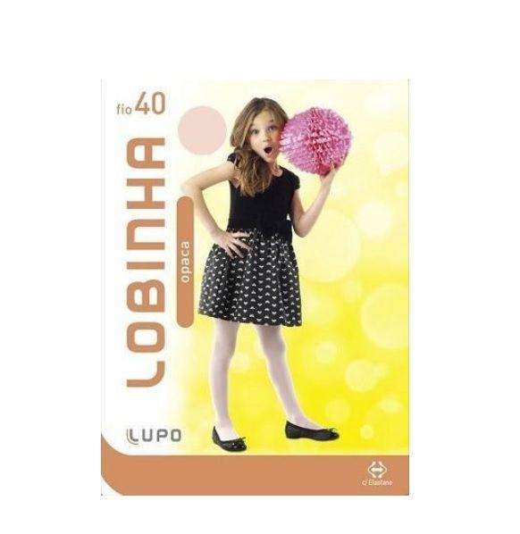 Meia Calça Infantil Lupo Opaca Fio 40 Lobinha 2530-01 Bb A G