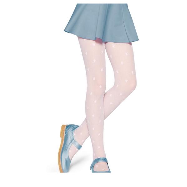 Meia Calça Infatil Estrelinha Fio 20 Lobinha Lupo 2515-003