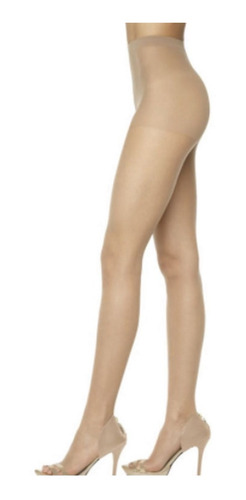 Meia Calça Slim Invisível Spandex Fio 7 Loba Lupo 5870-001