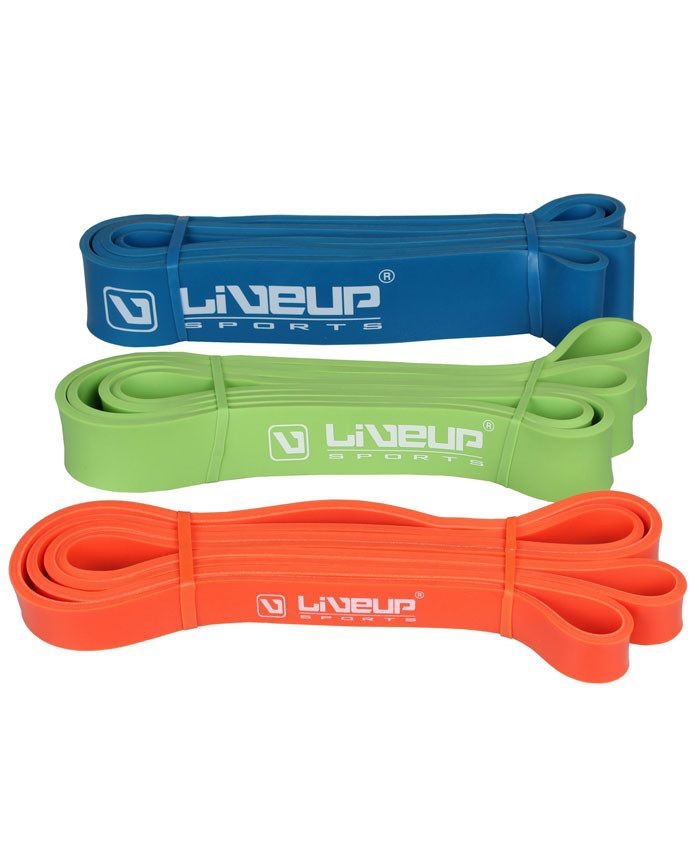 Mini Bands Liveup Sports 25 Cm X 5 Cm Latex Loop Ls3650