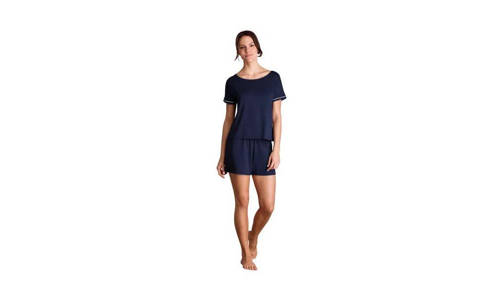 Pijama Feminino Curto Lupo Viscose Short Doll Conforto 24243-002