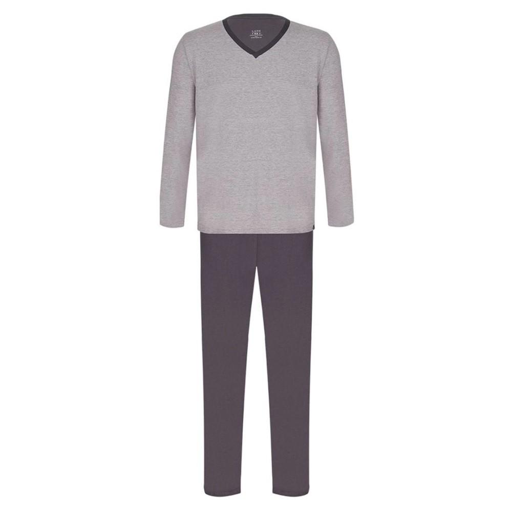 Pijama Masculino Manga Longa Calça Algodão Lupo 28011-001
