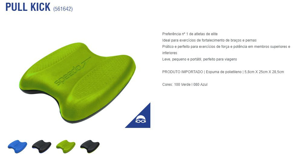 Prancha De Natação Speedo Pull Kick 561642