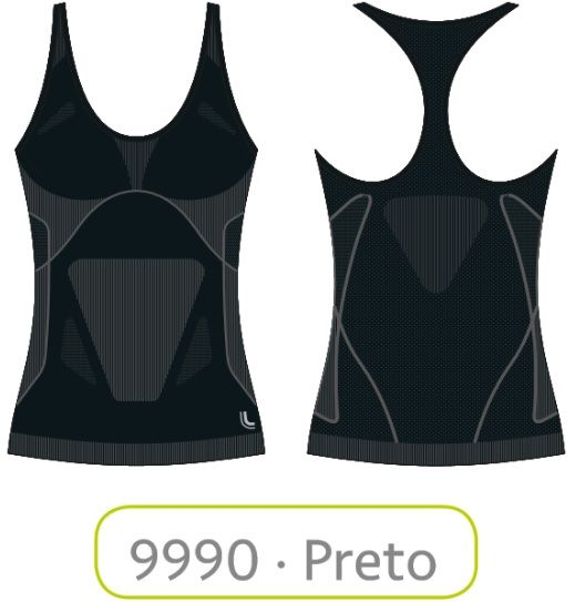 Regata Basic Lupo Sport Sem Costura Dry 71621-001