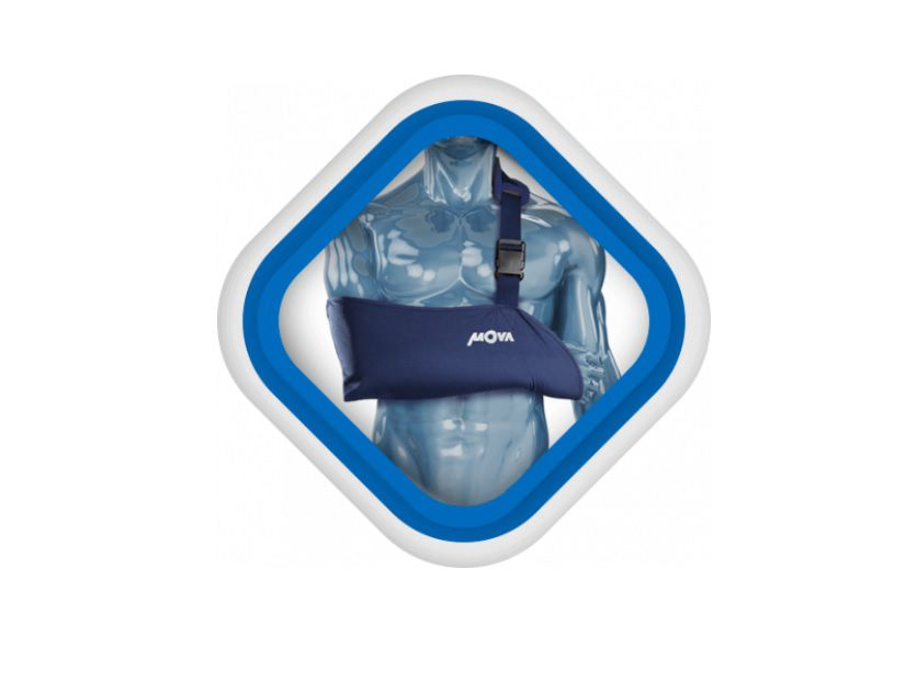 Tipoia Imobilizadora Espuma Proteção Pescoço Anvisa Mova 1988