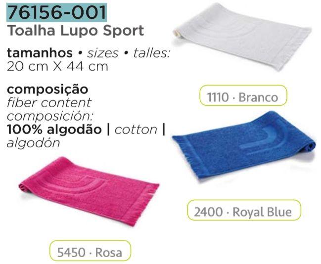 Toalha De Rosto Lupo Fitness Sport Academia E Esportes 76156-001