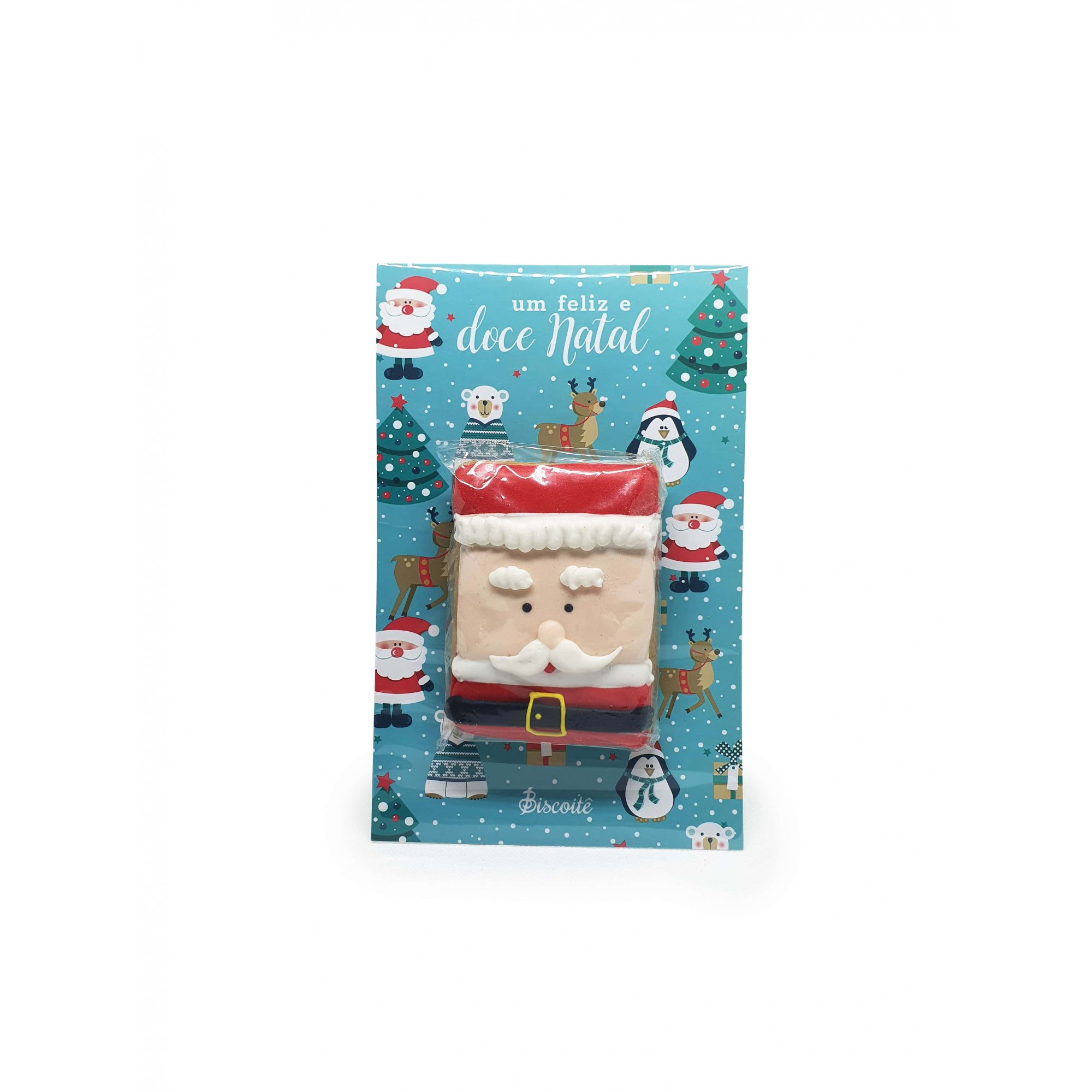 Cookie Card - Papai Noel