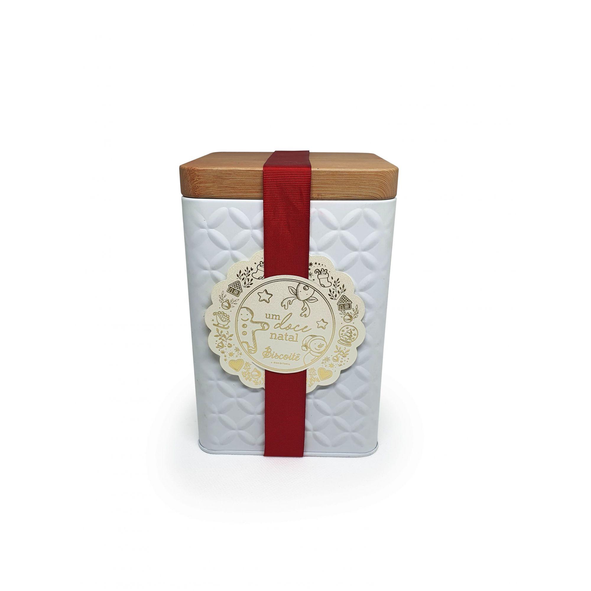 Cremiê - Lata Branca Quadrada - 250g