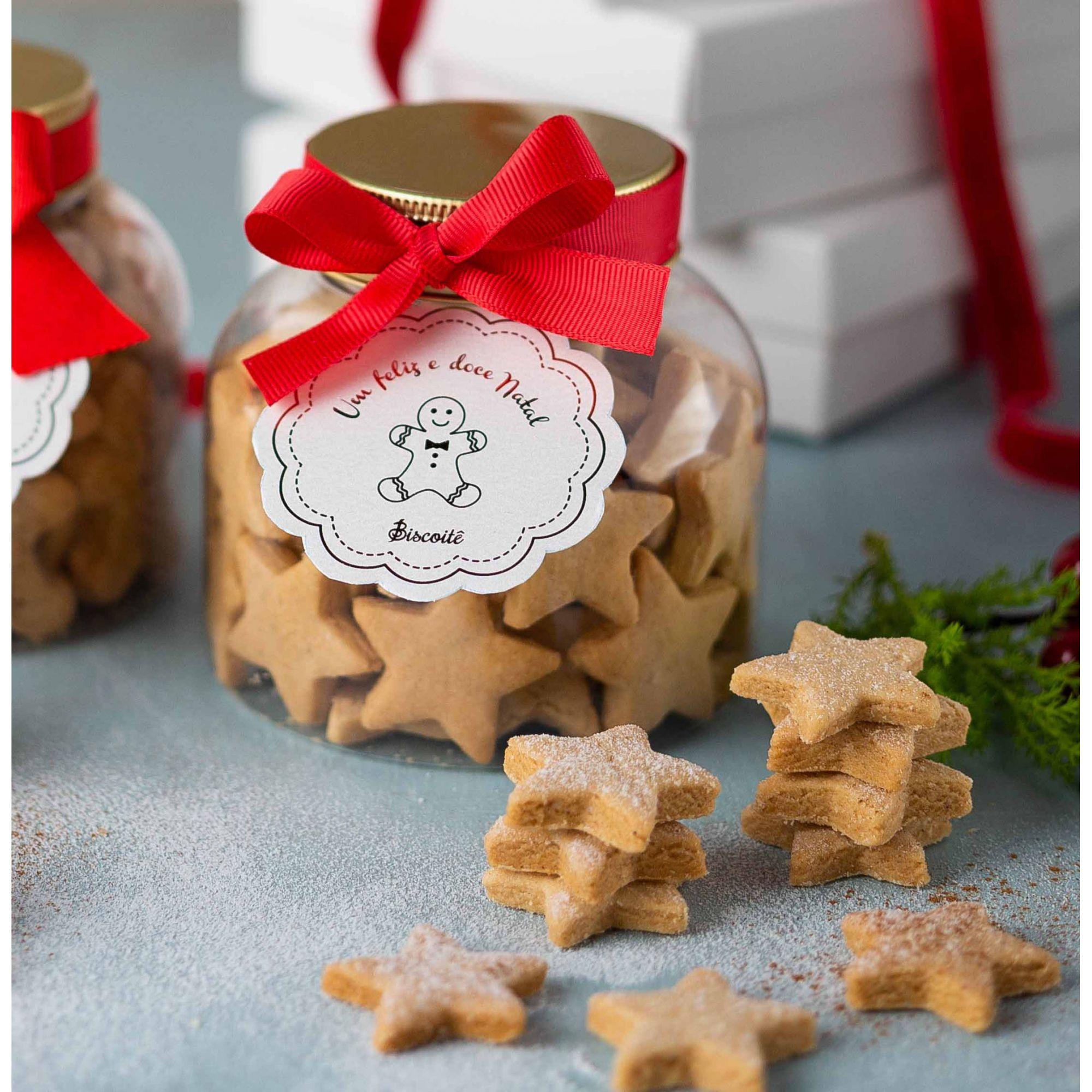 Estrelinhas de Natal - Pote - 180g