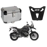 Bauleto Central Bráz Atacama 43L Escovado + Base R 1200 GS 2013 a 2019