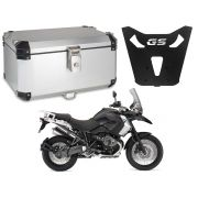 Bauleto Central Braz Atacama 55L Escovado + Base R 1200 GS 2013 a 2019